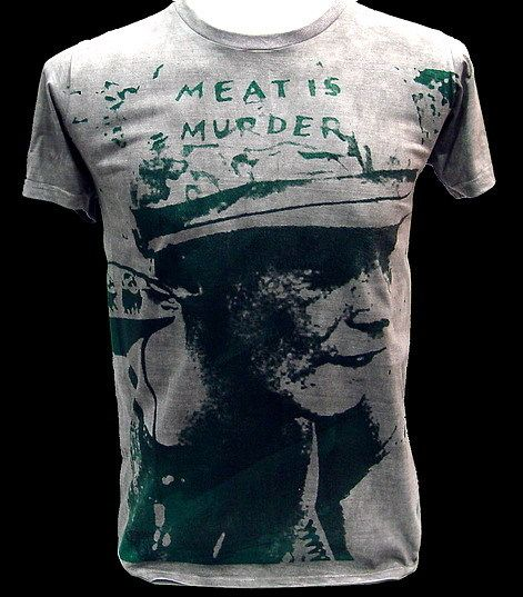 THE SMITHS Morrissey Meat is Murder VTG RocK T Shirt M