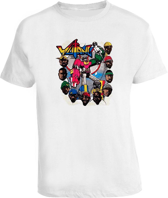 Wu Tang Clan Voltron Parody Rap Hip Hop T Shirt