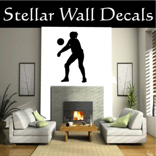 VolleyBall Sport Wall Car Vinyl Decal Sticker ST006