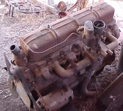 Vintage 1943 WWII US Army Military Chevrolet GMC Truck Engine
