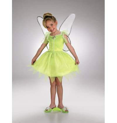 DISNEY Princess Tinker Bell Child 4   6x Costume