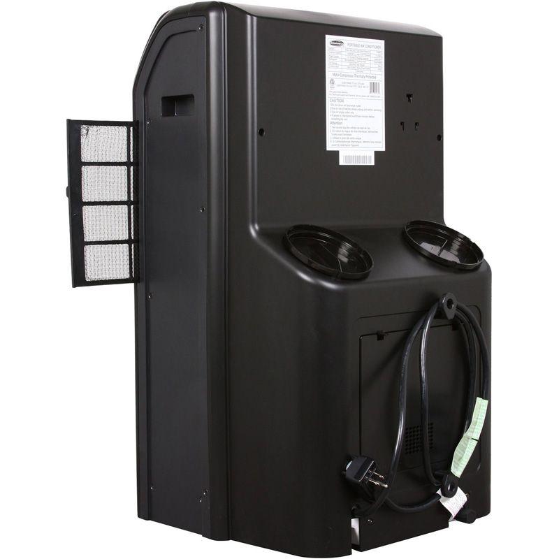 Portable Air Conditioner, AC + Heat Pump, 13K BTU Dual Hose Compact A